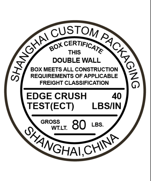 box strength test certificate