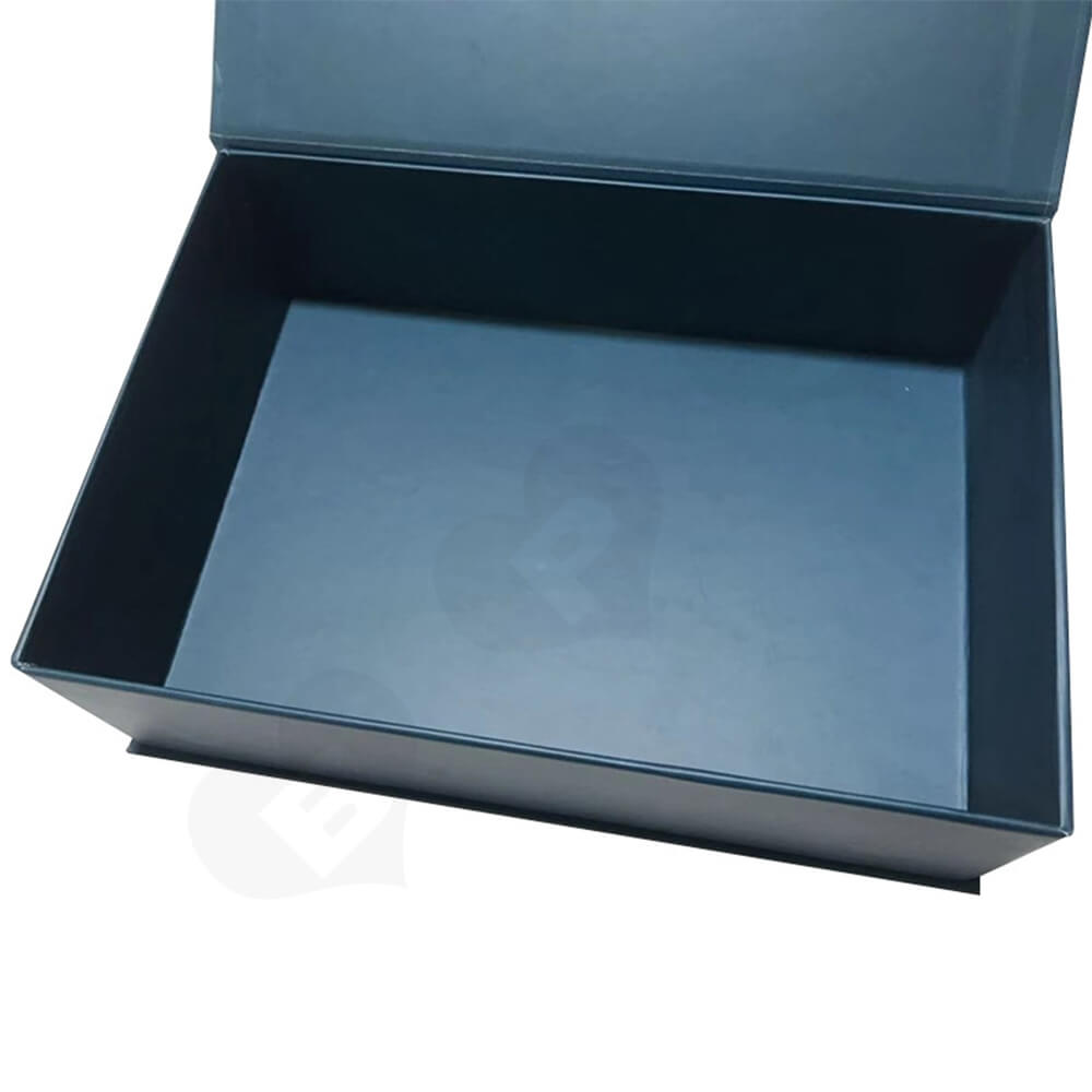 Custom Magnetic Closure Rigid Box Double Sided Printing Side View Five