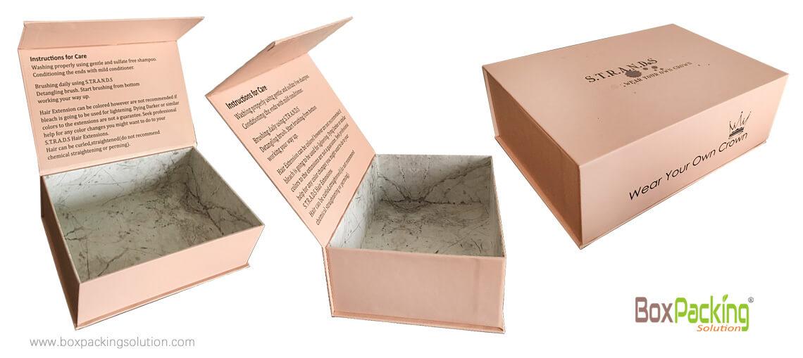 Biodegradable Custom Printed Rigid Box For Gifts