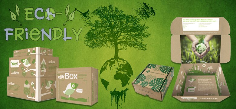 Eco Friendly Biodegradable Sustainable Packaging Boxes
