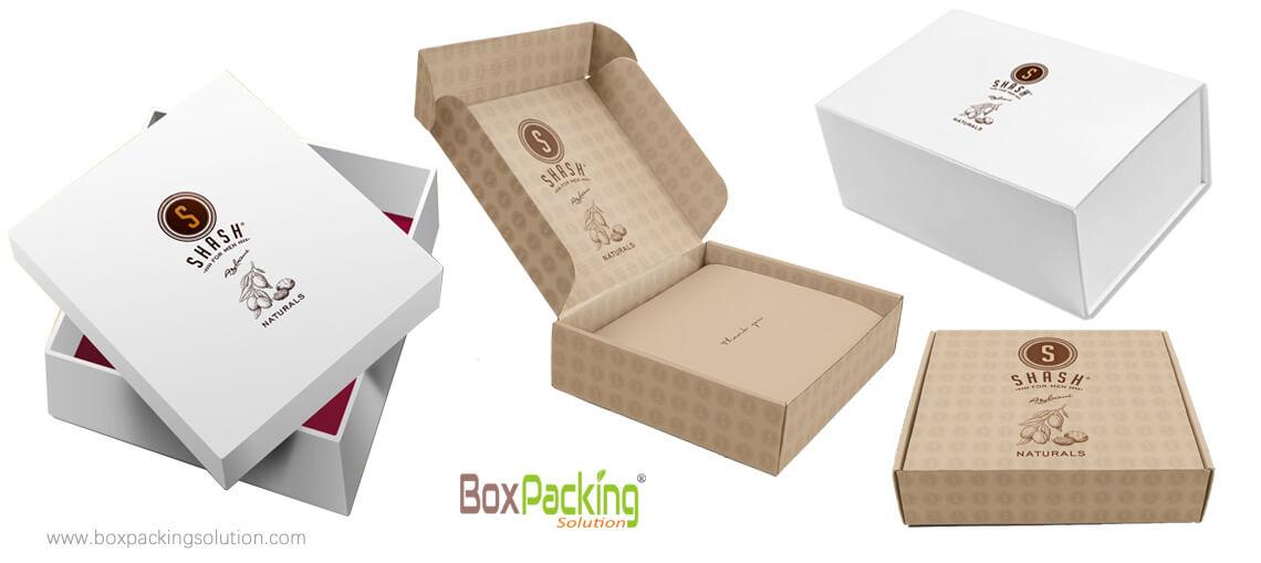Original Natural Cardboard Box Custom Made To Size