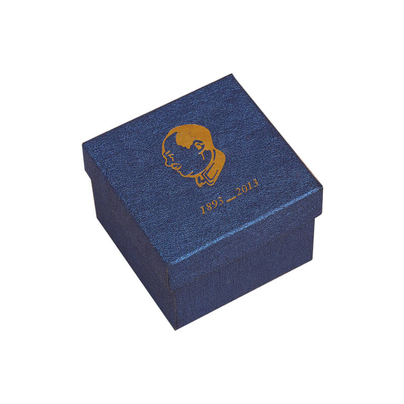 A nice gold foil stamping watch box