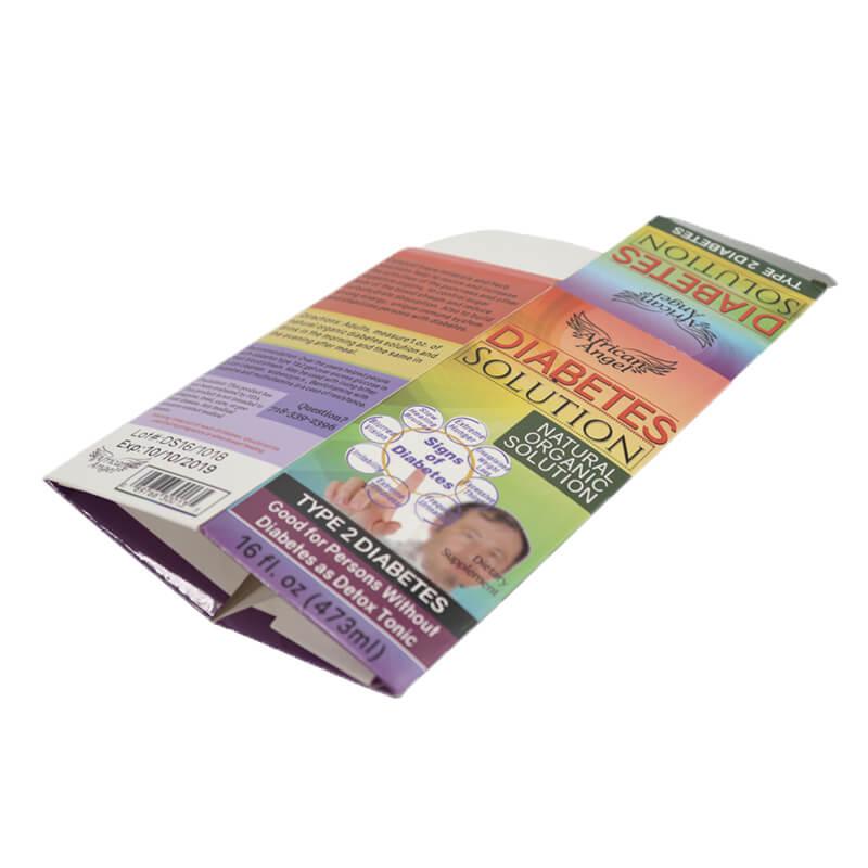 Auto Lock Bottom Medical Bandage Paper Boxes