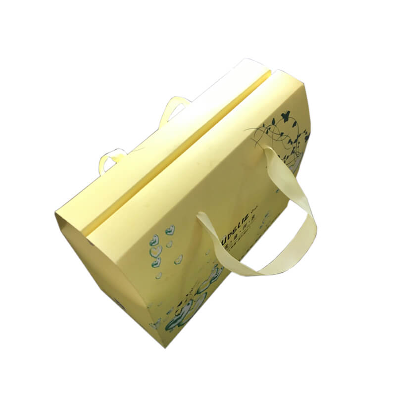 Bakery Carrier Boxes with Ribbon Handle