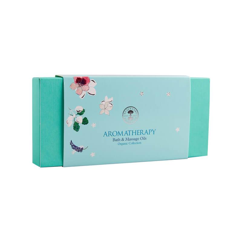 Bath and Massage Oils Organic gift box