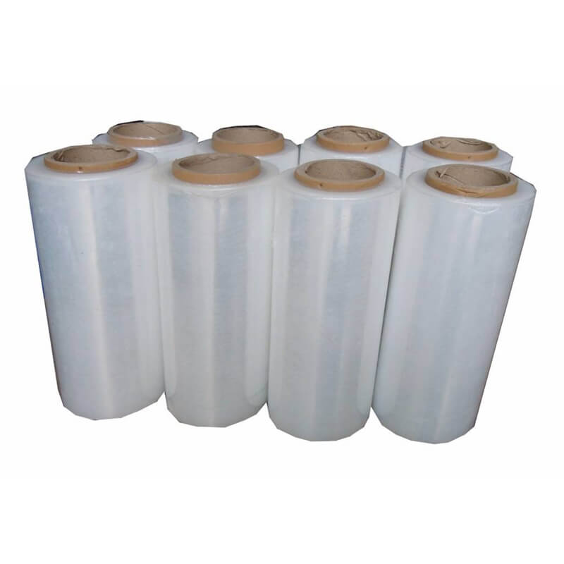 Box with Wrapping Film