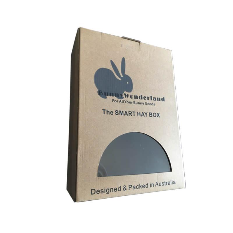 Bunny Hay Feed Box