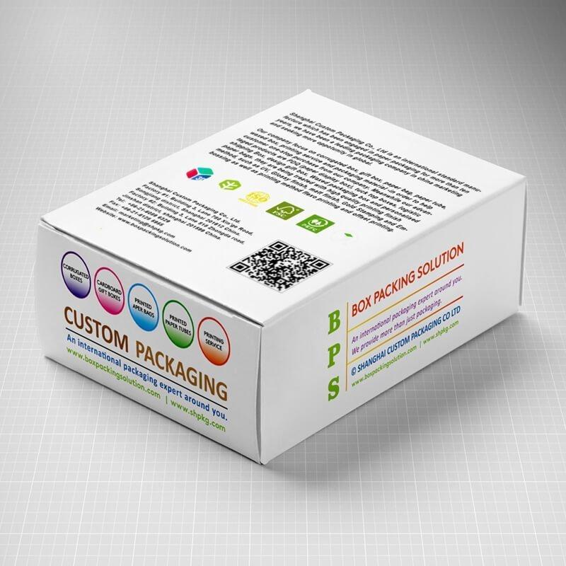 CMYK printed Box mockup