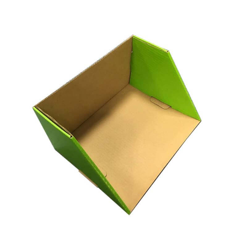 Cardboard tray paper display box.
