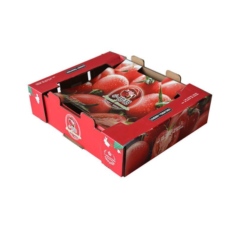 Cherry tomatoes packaging box