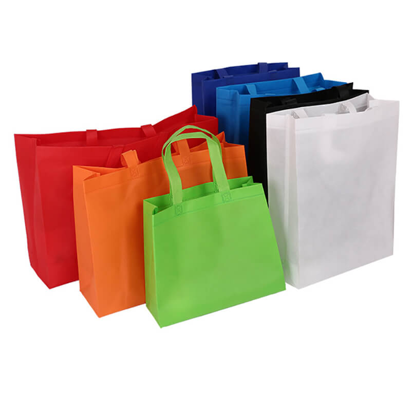 Colorful Non-woven Paper Bags