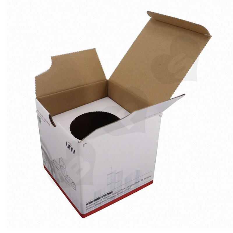 Corrugated Box with Corrugated Inserts