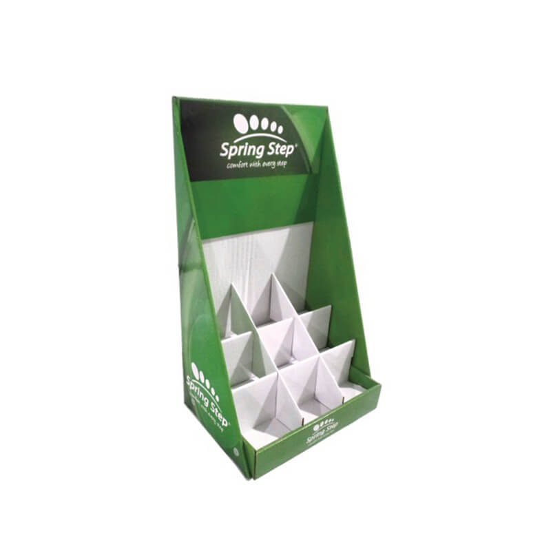 Corrugated Display Box With Dividers
