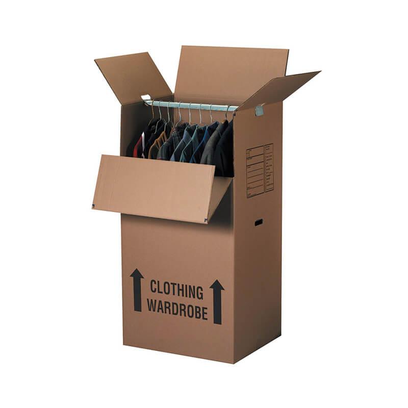 Corrugated Wardrobe Moving Boxes