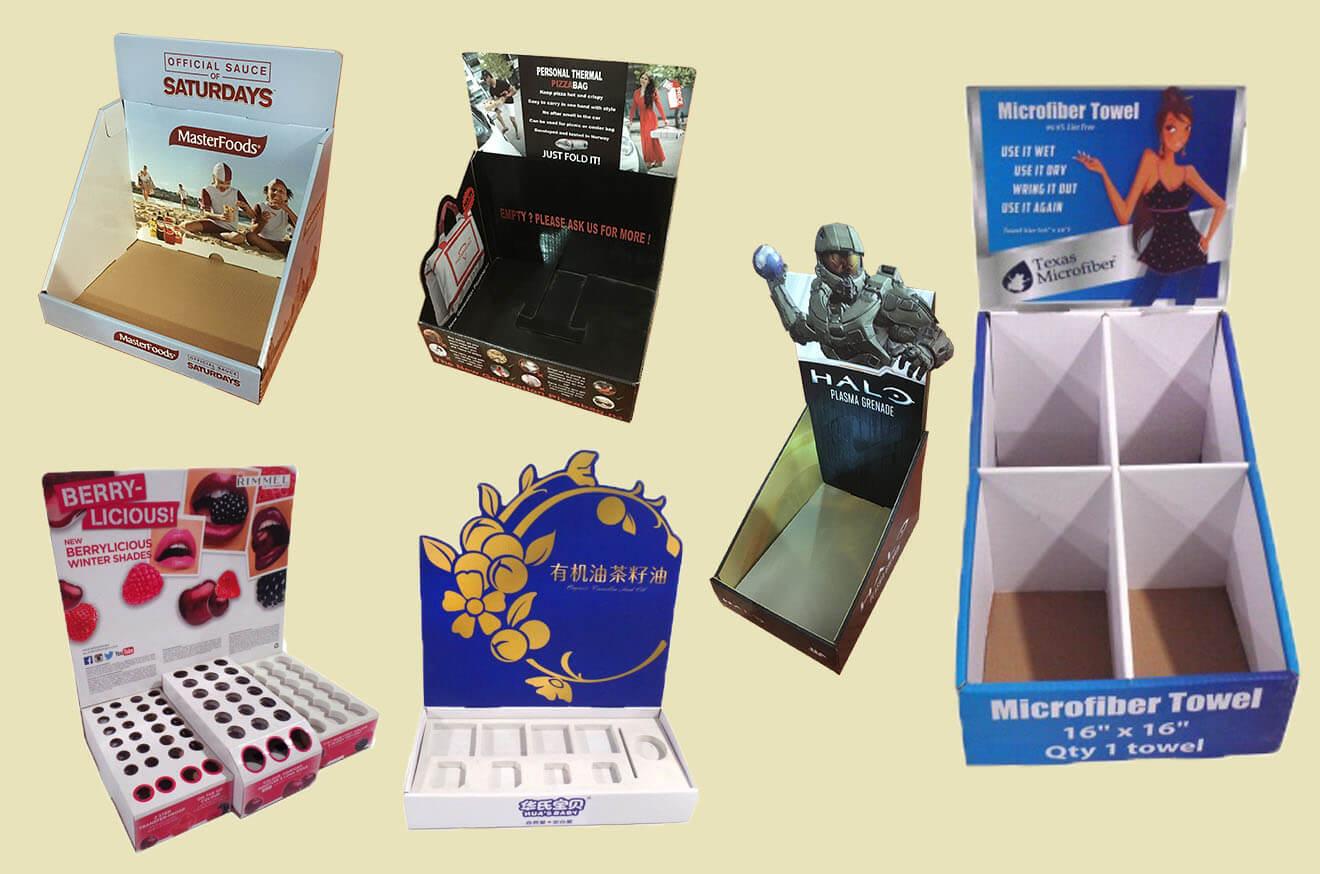 Cardboard Couunter Display