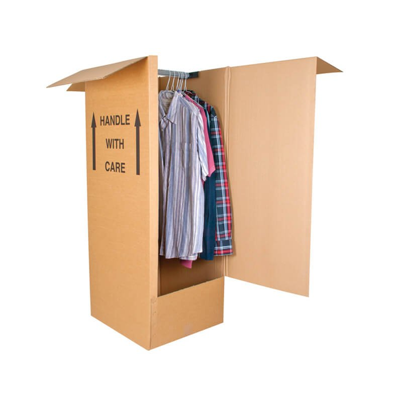 Corrugated wardrobe packaging box | apparel boxes | garment boxes