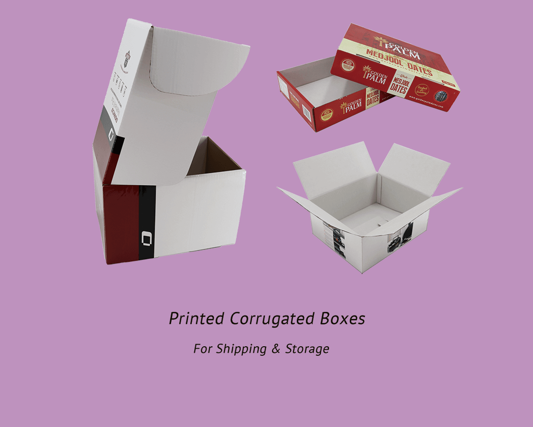 we offer corrugated mailer boxes, shipping cartons, shipper display box, and customized cardboard cartons.