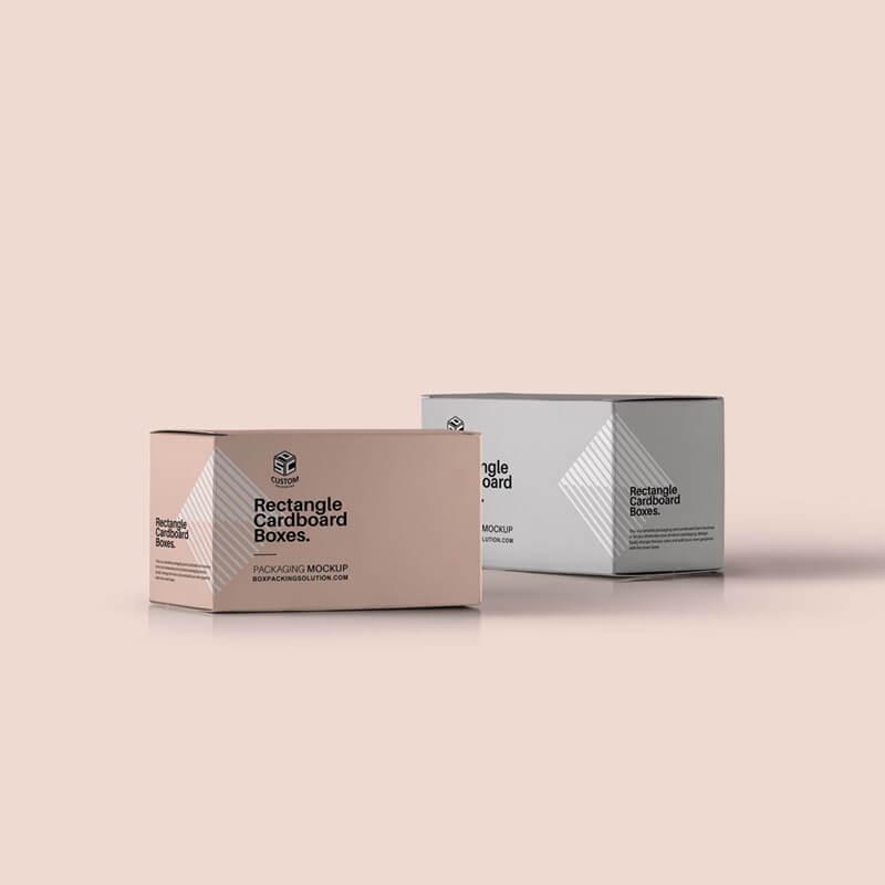 Custom Tuck end paper boxes mock-up design