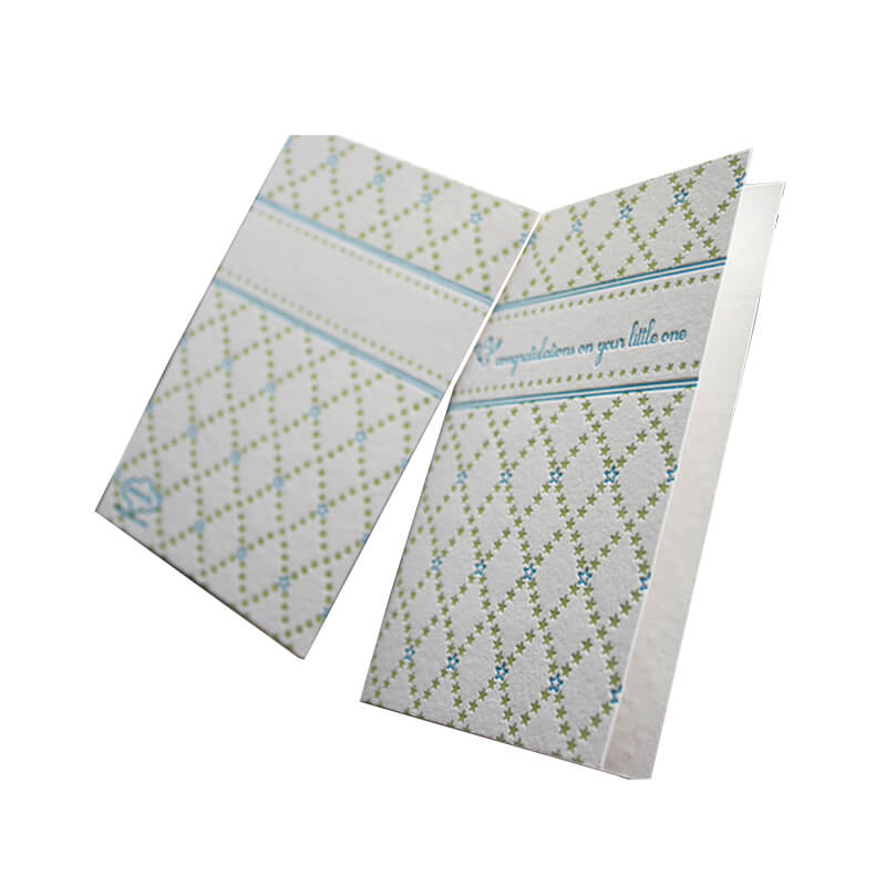 Debossed paper manual