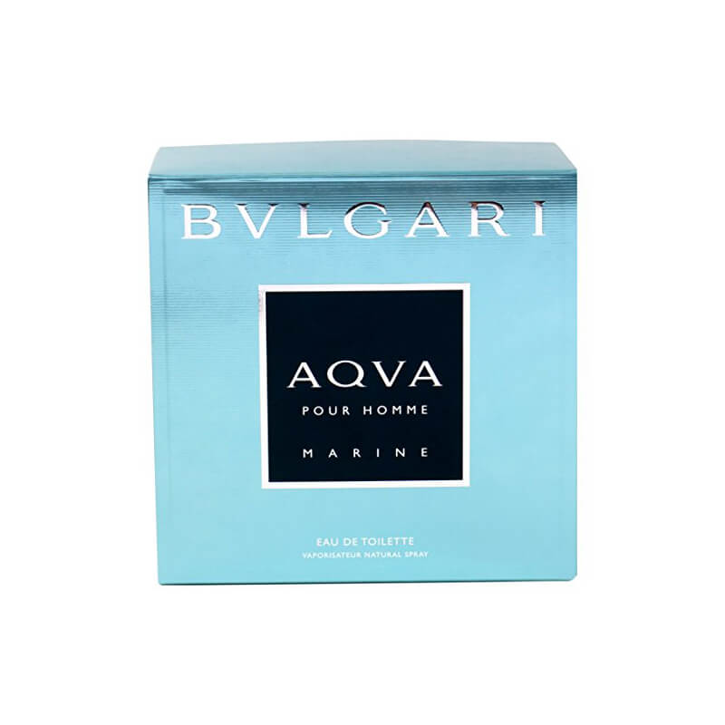 EDT spray packaging box, made for BVLGARI