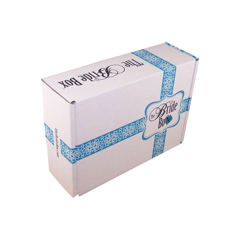 Flexo printing white corrugated box