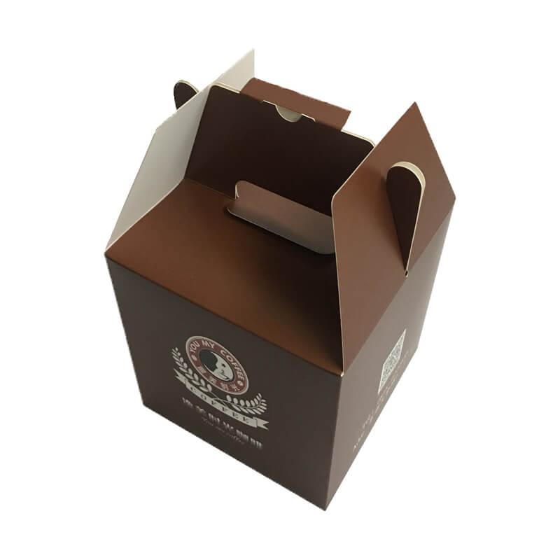 Gable Top Cake Packaging Paper Box