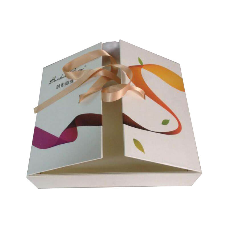 Gift box ribbon closure for women underwear