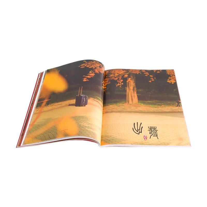 Glossy oil varnish gift card magazine printing