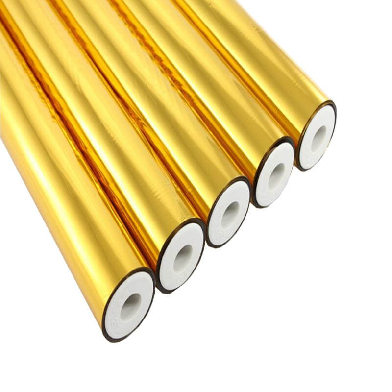 Metalic foil paper gold foil paper