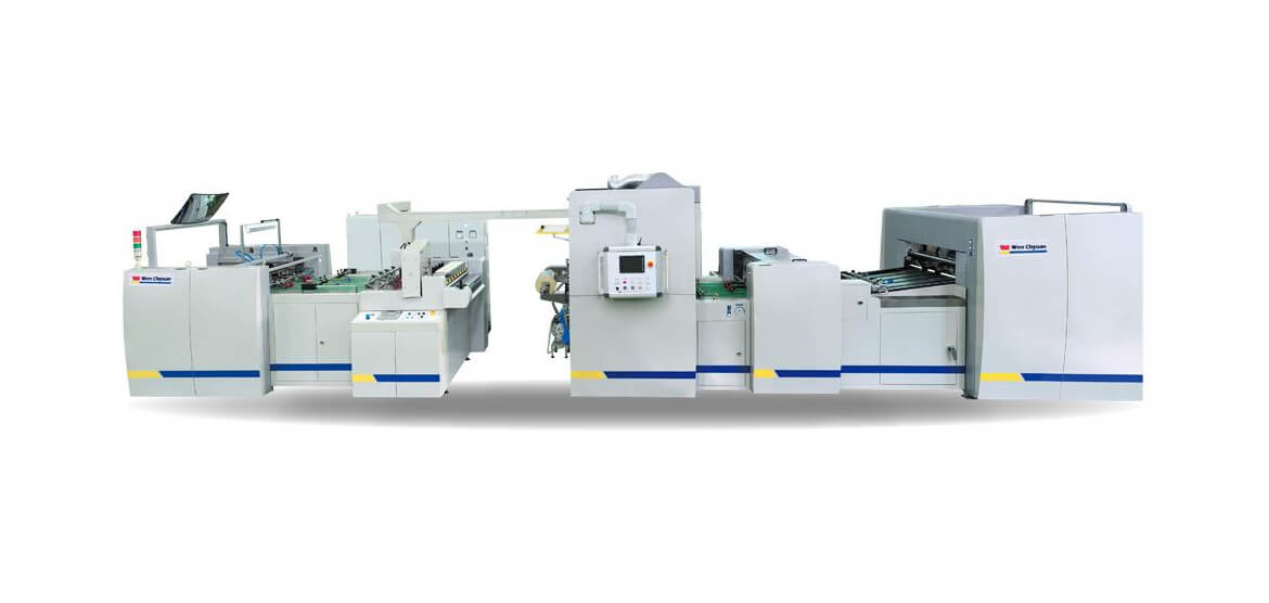 High-speed plastic lamination machine