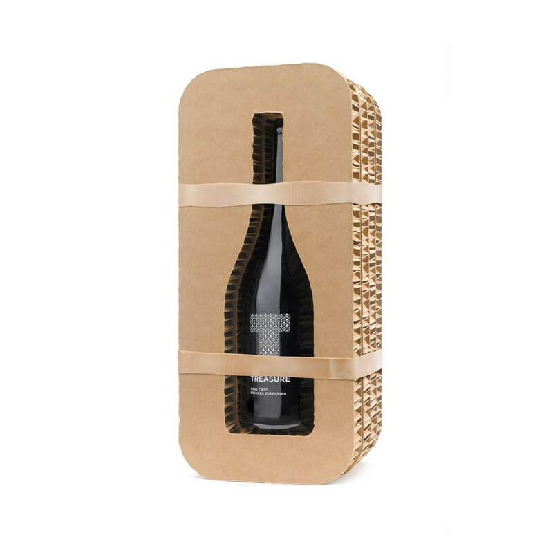 Honeycomb material wine box