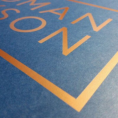 Hot Foil Stamping on Custom Rigid Boxes