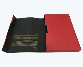 Luxury book shape box for men's shirt