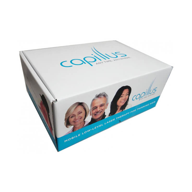Mailer box for hair loss products