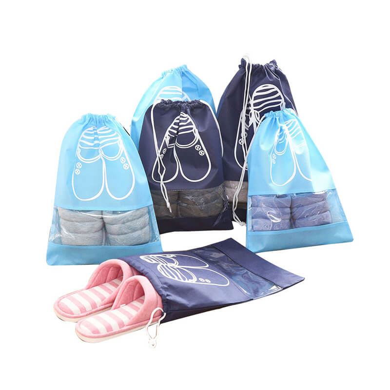 Non-woven sack for shoes