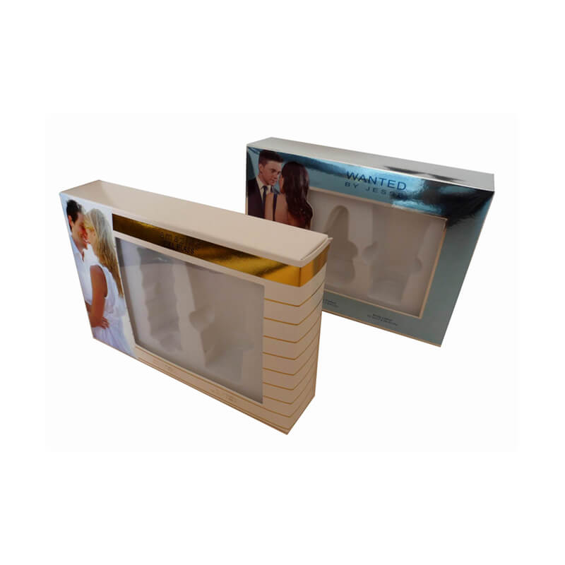 Offset printed specialty paper box