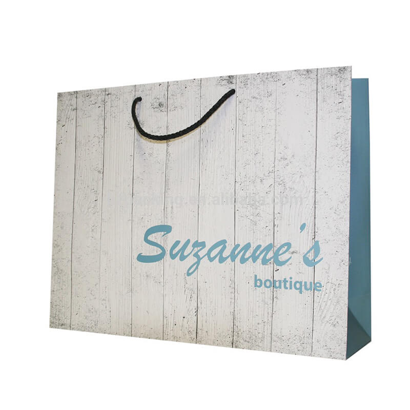 Paper bag for boutique women dress