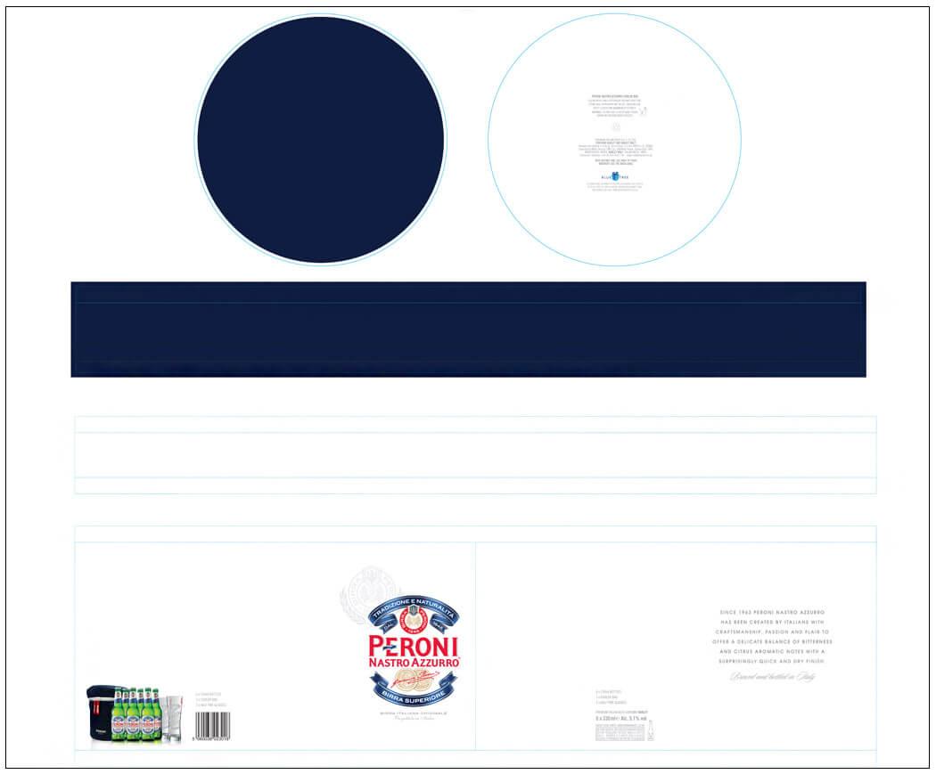 Paper tube drum artwork design