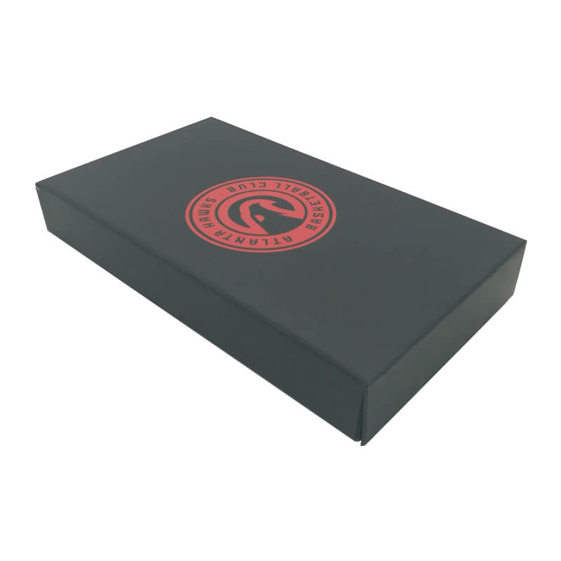 Perfume box laminated with soft touch film