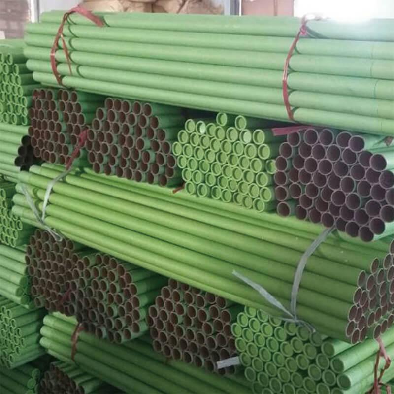 Printed industrial paper tube