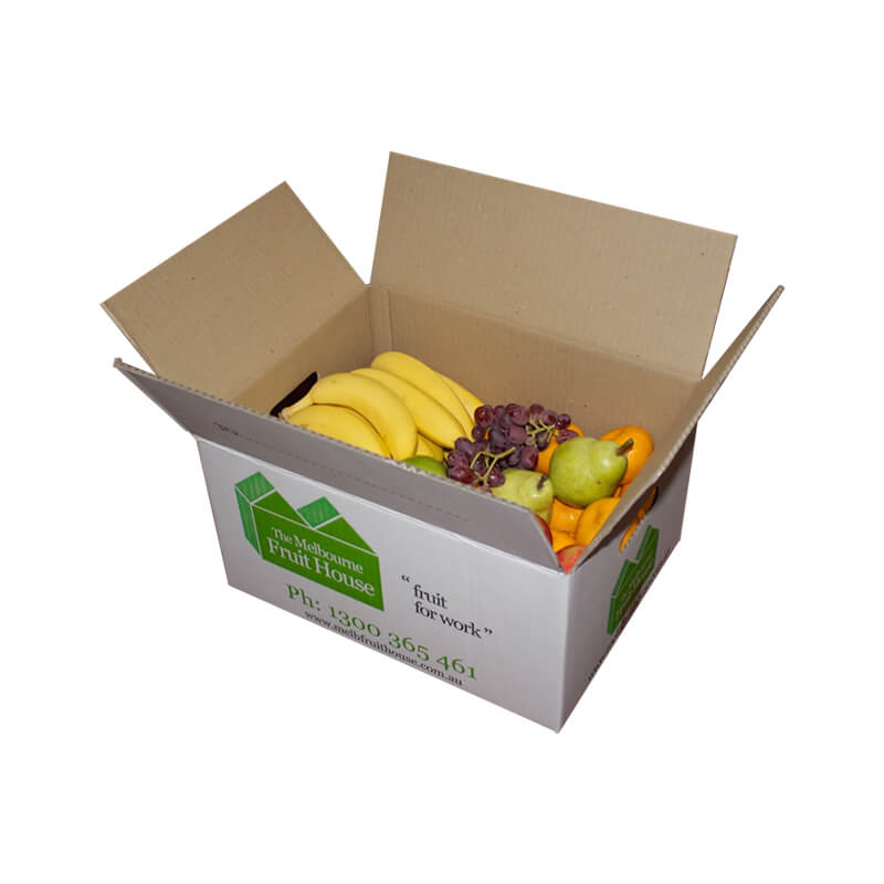 Regular slotted carton box for fruits