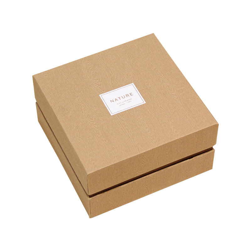 Rigid cardboard gift boxes for men's tie