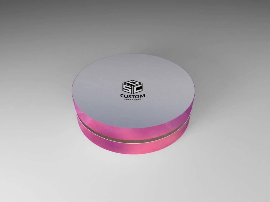 Round Cosmetics Packaging tube box