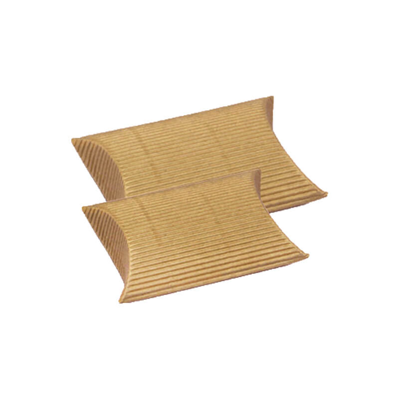 Single Faced Corrugated Pillow Boxes