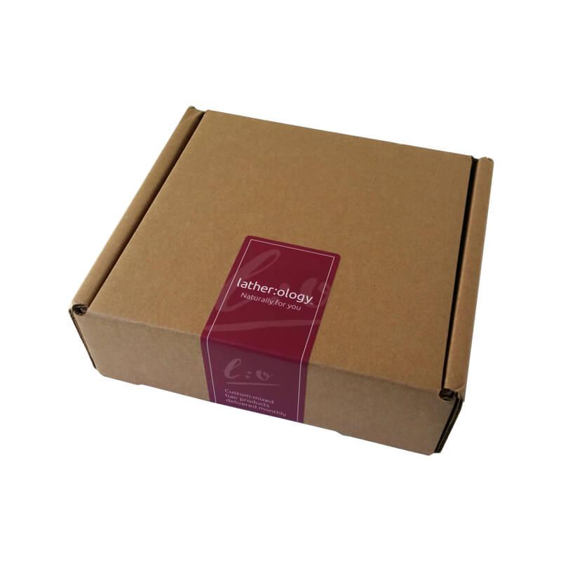 Styling bottle mailer box