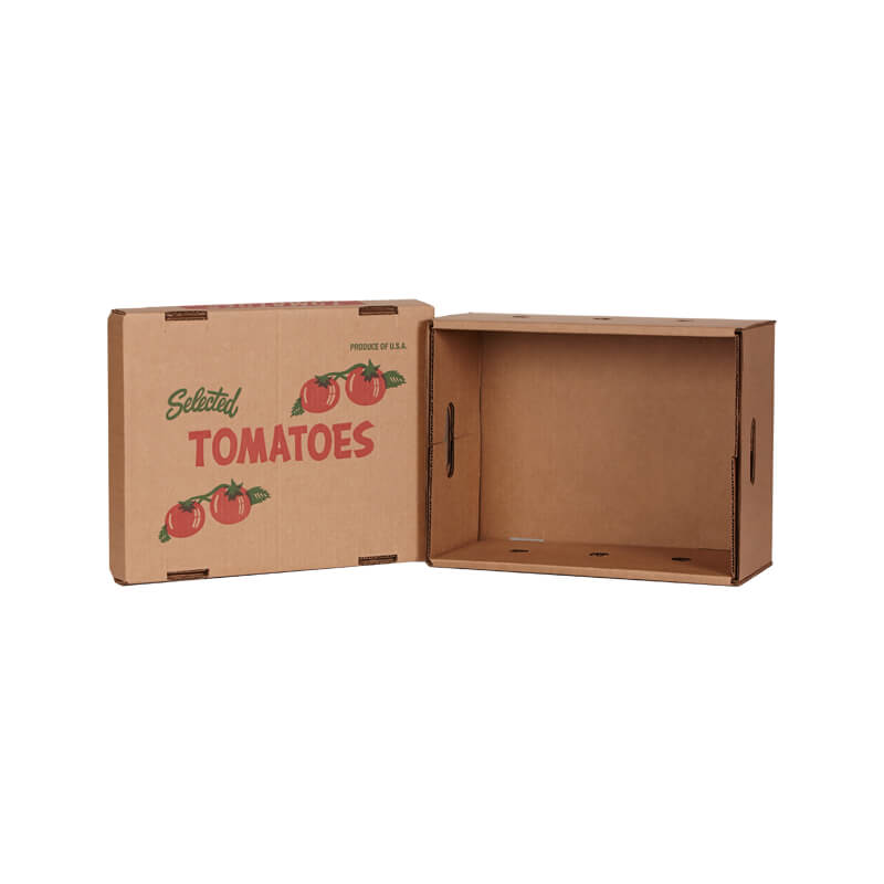 Telescope shape tomatoes packing box