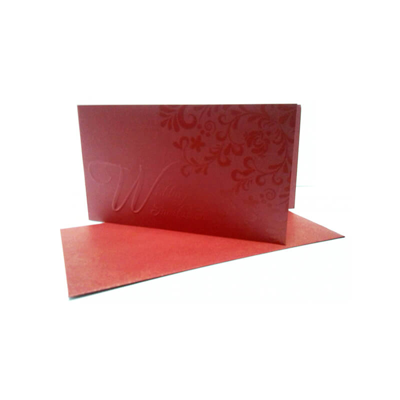 UV finished greeting card invitation card