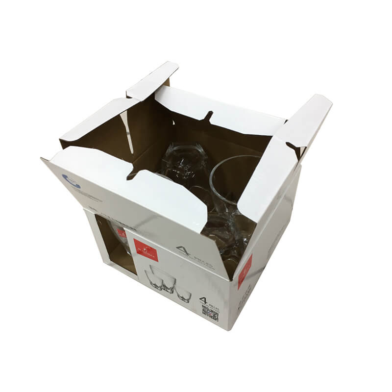 Wine glasses packaging box
