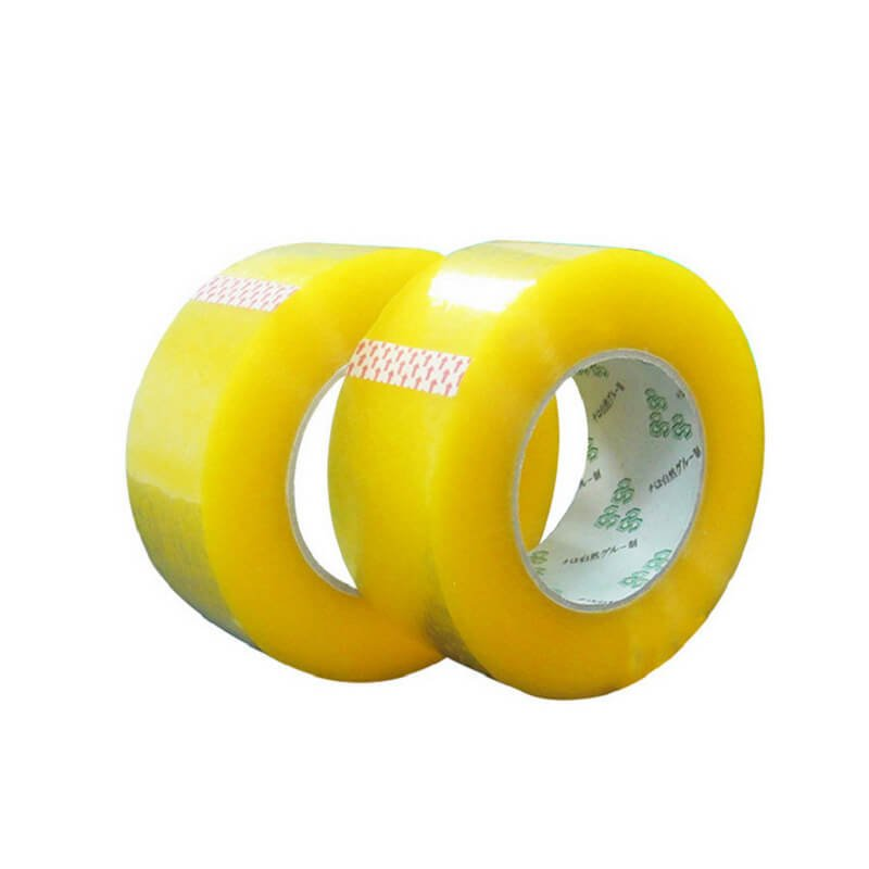 Yellow Color Plastic Packing Tape