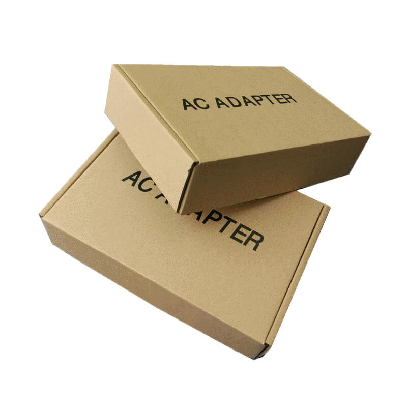 cardboard shipping box for AC adapter